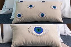 Göz Motifli Kırlentler